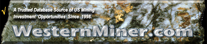 Alt mineral site for information on real mineral investment opportunities.